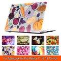 Unique Cute Rainbow Flower Cover Shell Print Case For Macbook Air 11 13 Mac book Pro 13 15 Retina New retina 12 inch