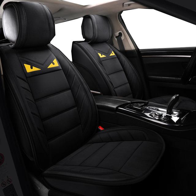 Fundas de asiento de coche mantener Fundas de cojín de calor para Protector de asiento de coche fundas delanteras y traseras de felpa para asiento de coche para kia Rio a 4 3 K2