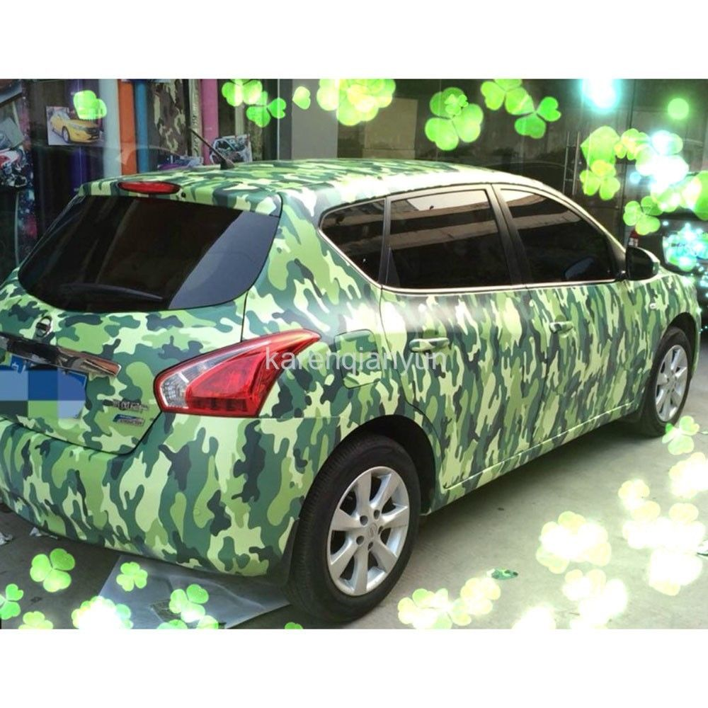 Car body sticker design singapore - Car Styling 60 20 Car Vinyl Army Camouflage Desert Wrap Sheet Stickers And Decals