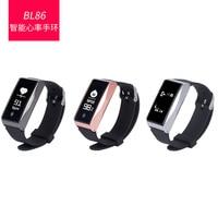 NIEUWE BL86 Smart Horloge Armband Smart Band Fitness Tracker Smart Polsbandje Hartslagmeter Smart Armband Smartband Fitness
