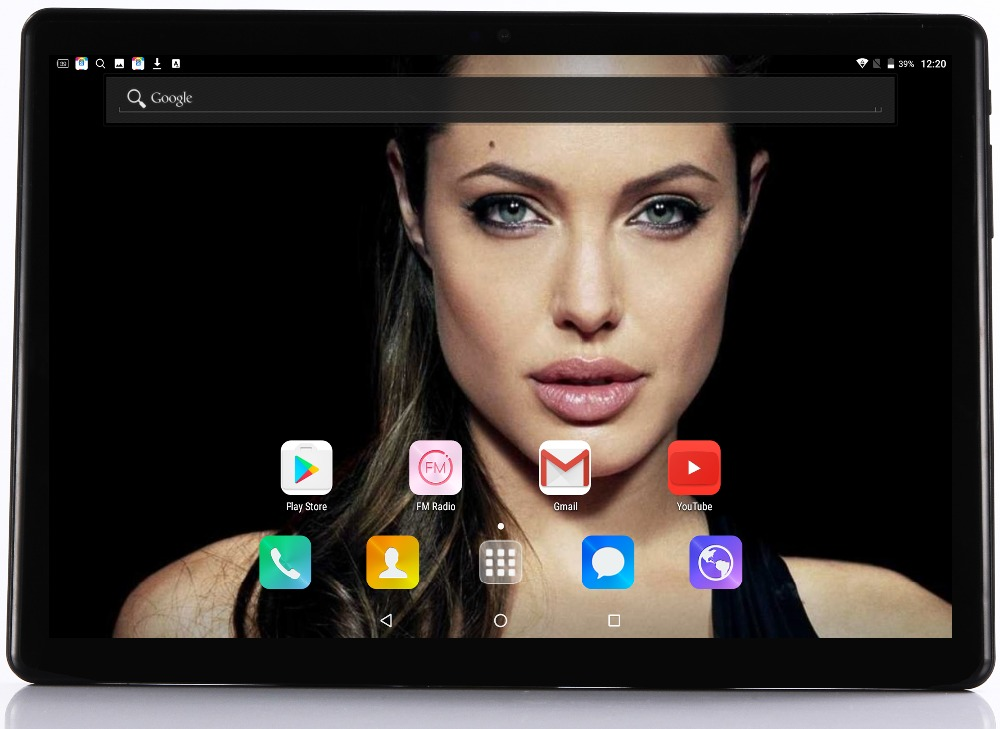 2019 New Super Tempered 2.5D Glass 10 inch 4G LTE tablet Android 7.0 Octa Core 4GB RAM 64GB ROM 8 Cores IPS Screen Tablets 10.1 (China)