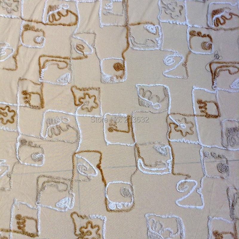 NºLujo POd9-52 textil tela bordada al por mayor del bordado punto ...