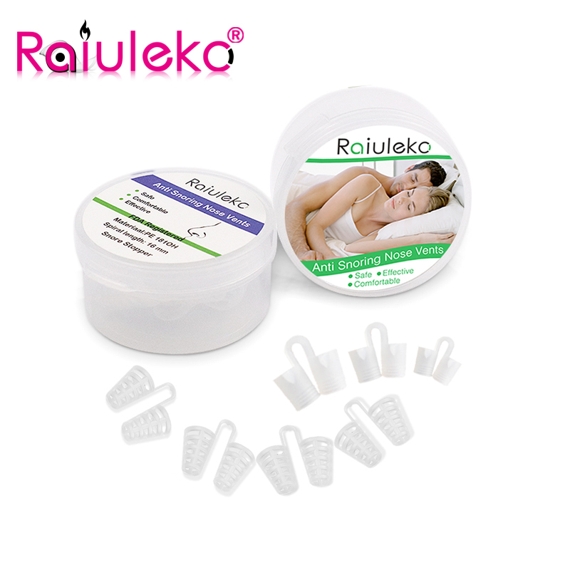 Anti-Snoring Device Breathe Freely Sleep Aid Nasal Dilators Comfortable Boxed Silicone Nose Clip Relieving Snoring And Apnea mayitr silicone effective anti snoring nose vents breathe easy sleep aid nasal dilator cones