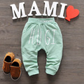 2016 New Spring&Autumn Baby Pants 1 piece Cotton Star Pattern Kids Pants Baby Girls And Baby Boy Pants