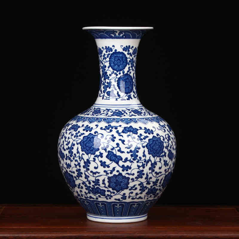 Aliexpress Buy Jingdezhen Porcelain Vase Chinese Ceramic Vase