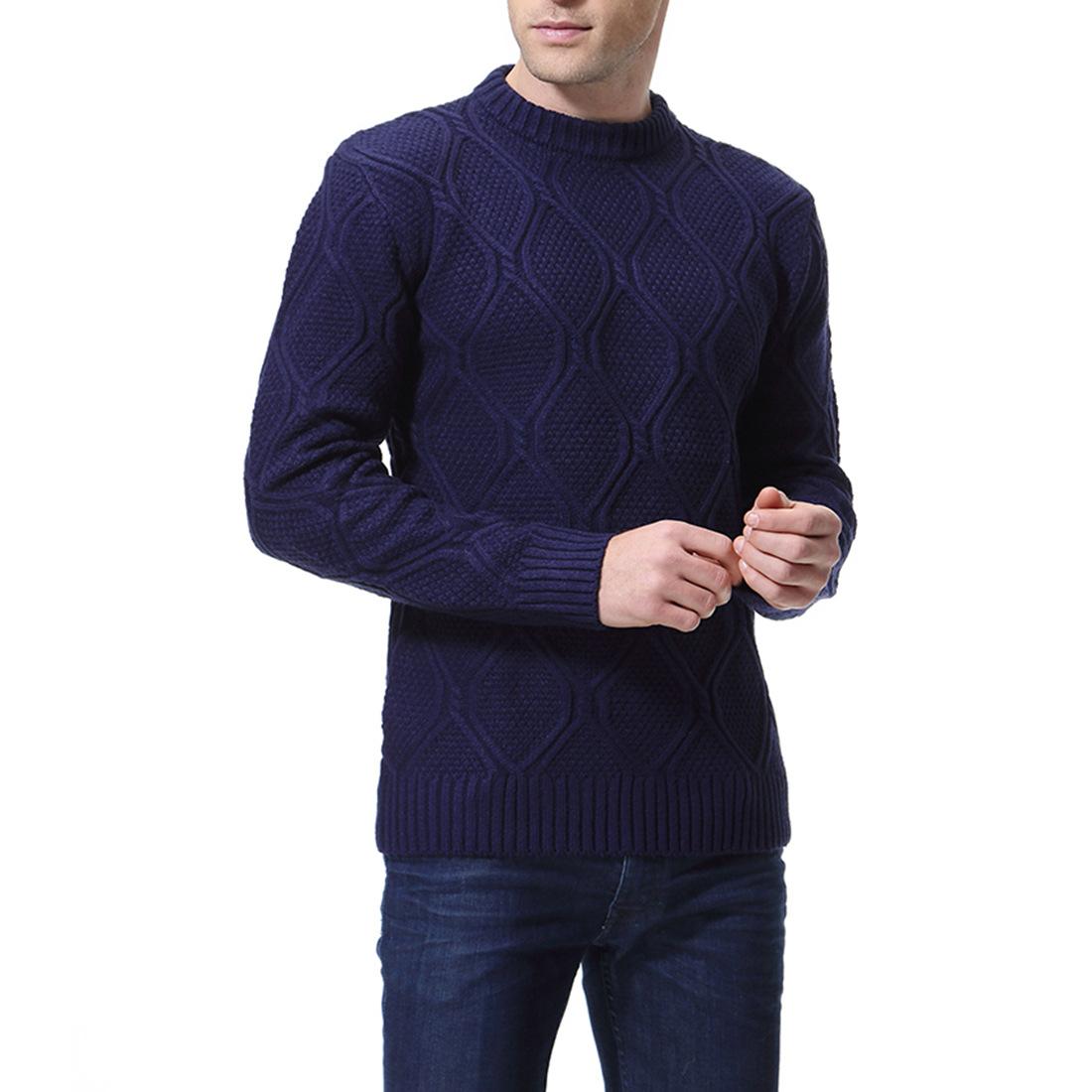 השפל סוודר וחורף מוצק 4