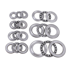 New Pratical Miniature Thrust Bearings Metal Axial Ball Bearing 3 Part 51100 Series 51100 To 51106 For Hardware Accessories 1Pcs thrust angular contact ball bearings for ball screw support 60tac03dt85sumpn5d