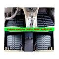 Заказ автомобиля коврики для TOYOTA CAMRY 2006-2011 левый руль XPE кожа стайлинга автомобилей Передняя и Задняя авто Пыли Водонепроницаемый