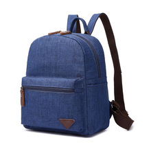 High Quality Fashion Men's Backpack Bag Male Canvas Laptop Backpack Computer Bags High School Student College Students Bag Male стоимость