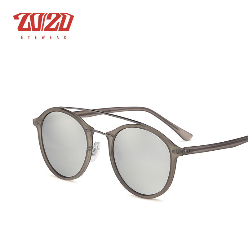 20/20 Brand Men Retro Polarized Sunglasses Women Classic Brand Designer Unisex Sunglasses Double Beams Glasses 4