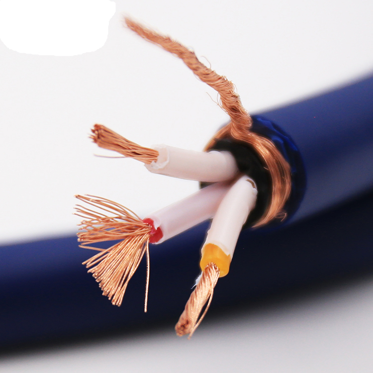 High Quality OFC Copper power cable sold per meter hifi power cable End AC Power Cable