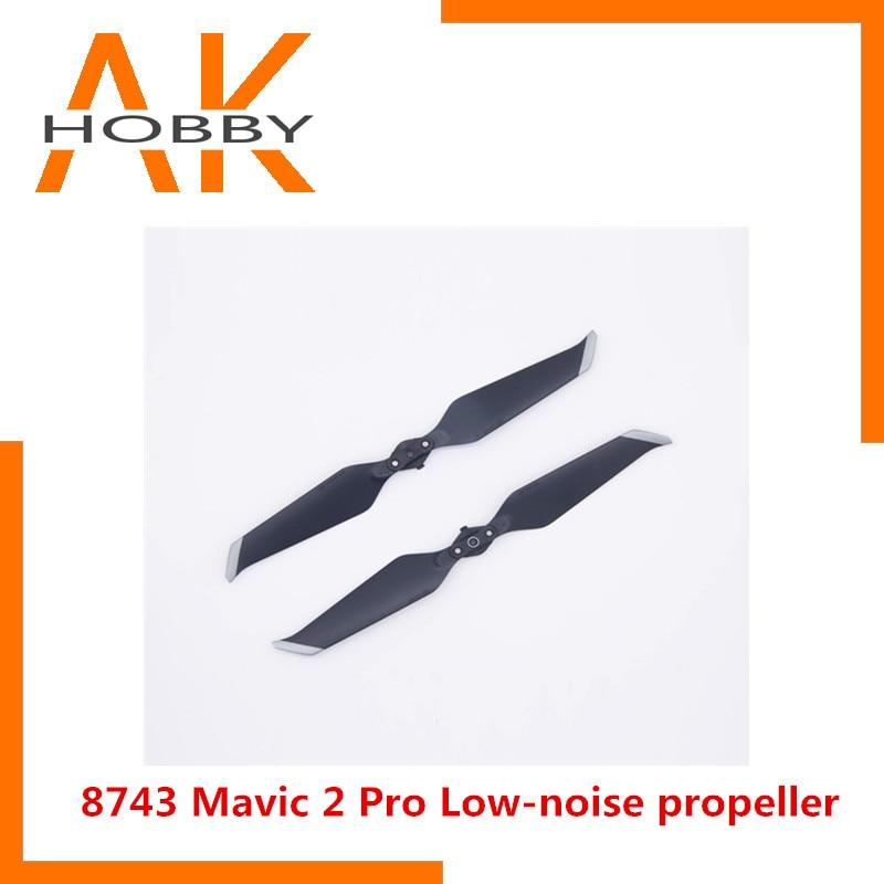 8743 CW+CCWLow-Noise Propeller for DJI Mavic 2 Pro Mavic 2 Zoom Blade Prop Accessories 1