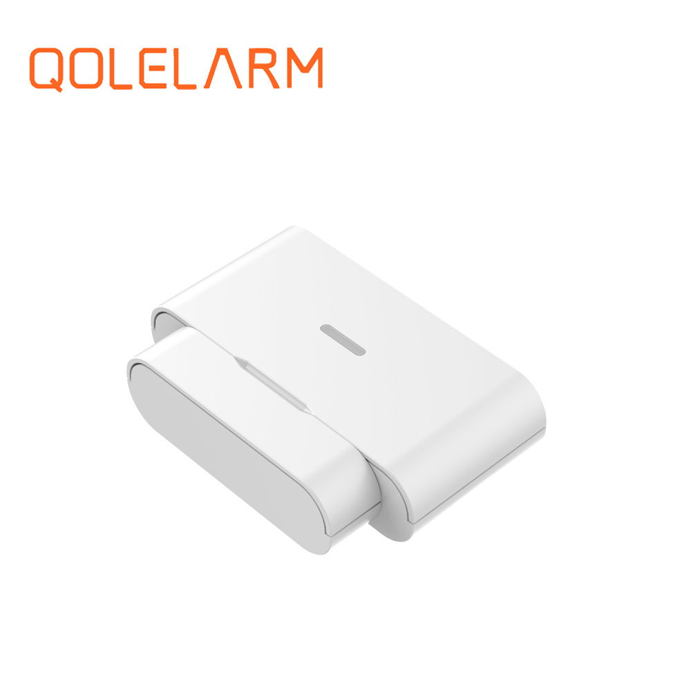 Qolelarm house anti thief intruder alarm sensor 433 mhz wireless window door contact magnetical detector for home security alarm(China)