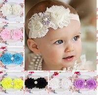 Baby Girl Headband 2017 Floral 10PCS Girl Baby Headband Toddler Bow Flower Hair Band Accessories Headwear