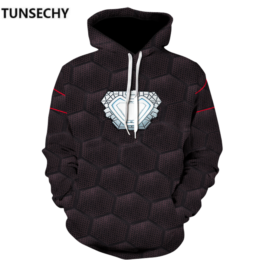 TUNSECHY Brand Avengers Alliance 3 Hoodies  iron man  spider-man Panther anime Hoodies & Sweatshirts Wholesale and retail