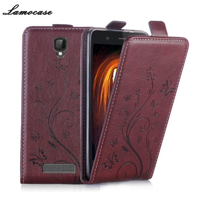 Leather Case For ZTE Blade L5 Plus Filp Vertical Case For ZTE Blade L5 L5 Plus 5.0 inch Strike Embossing Cover Phone Bags JRYH