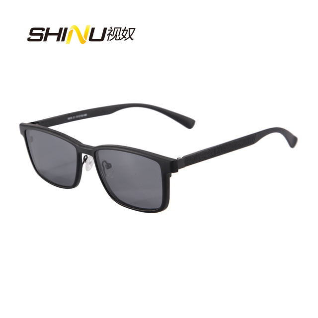 Men Polarized Magnetic Clip Glasses Metal Male Driving Clip On Sunglasses Magnet Sports Myopia Glasses Frame 9916