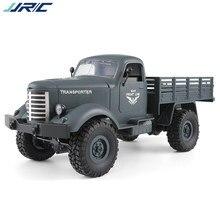 Jjrc q60 rc 1:16 caminhão de brinquedo controle remoto 2.4g 6wd rastreou fora de estrada com bateria carro brinquedos para crianças meninos carros q61