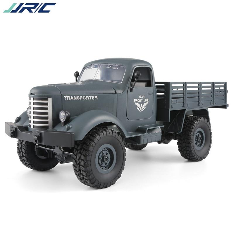 Jjrc Q60 Rc 1:16 jouet camion télécommande 2.4G 6WD suivi tout-terrain avec Bateria voiture jouets pour enfants garçons voitures Q61