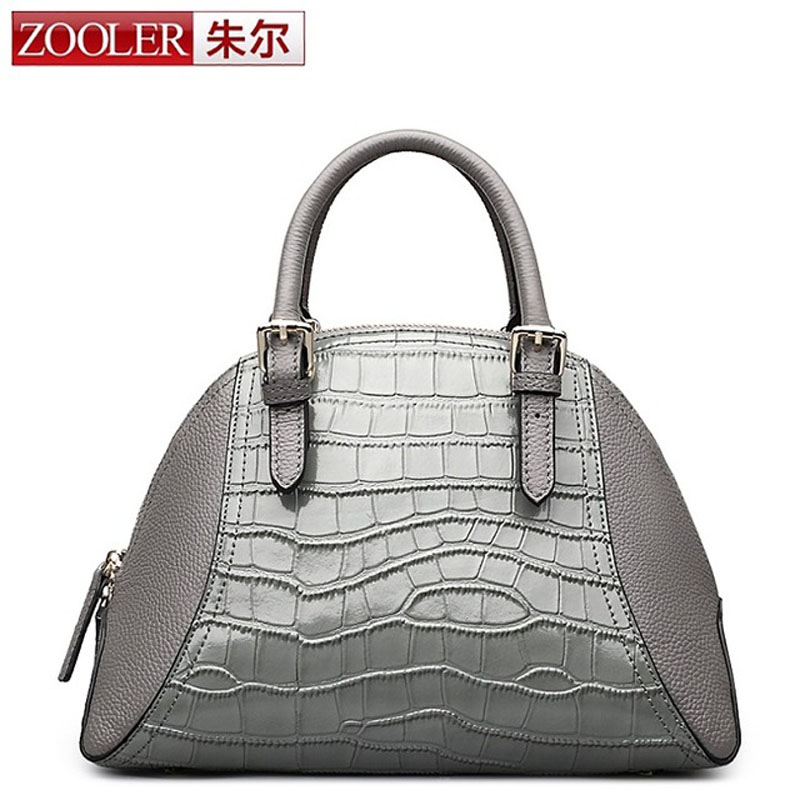 ZOOLER Genuine Leather Crossbody Bags For Women Small Bag Female Lady Shoulder Bags Shell Bags Women Fashion Elegant OL Purse women shell shoulder bag female crossbody women messenger bags fashion small bag females lady handbags crossbody bags for women