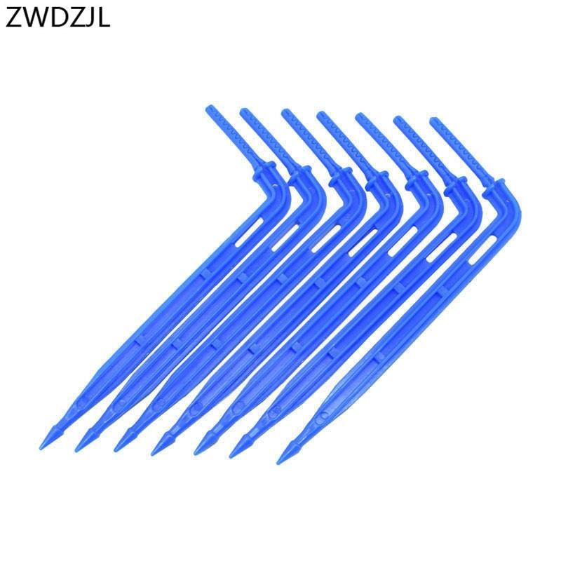 """Garden Irrigation Arrow Dripper Arrow Drip Emitter 3/5 Hose 1/8"""" Micro Drip Irrigation System Water Drop Garden 25pcs"""