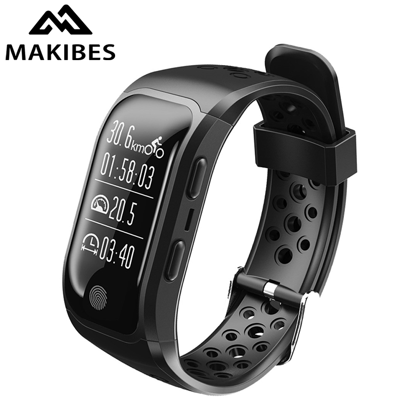 Makibes G03 GPS Smart Band IP68 Waterproof Sports Wristband Multiple sports Heart Rate Monitor Call Reminder S908 Sports band цена