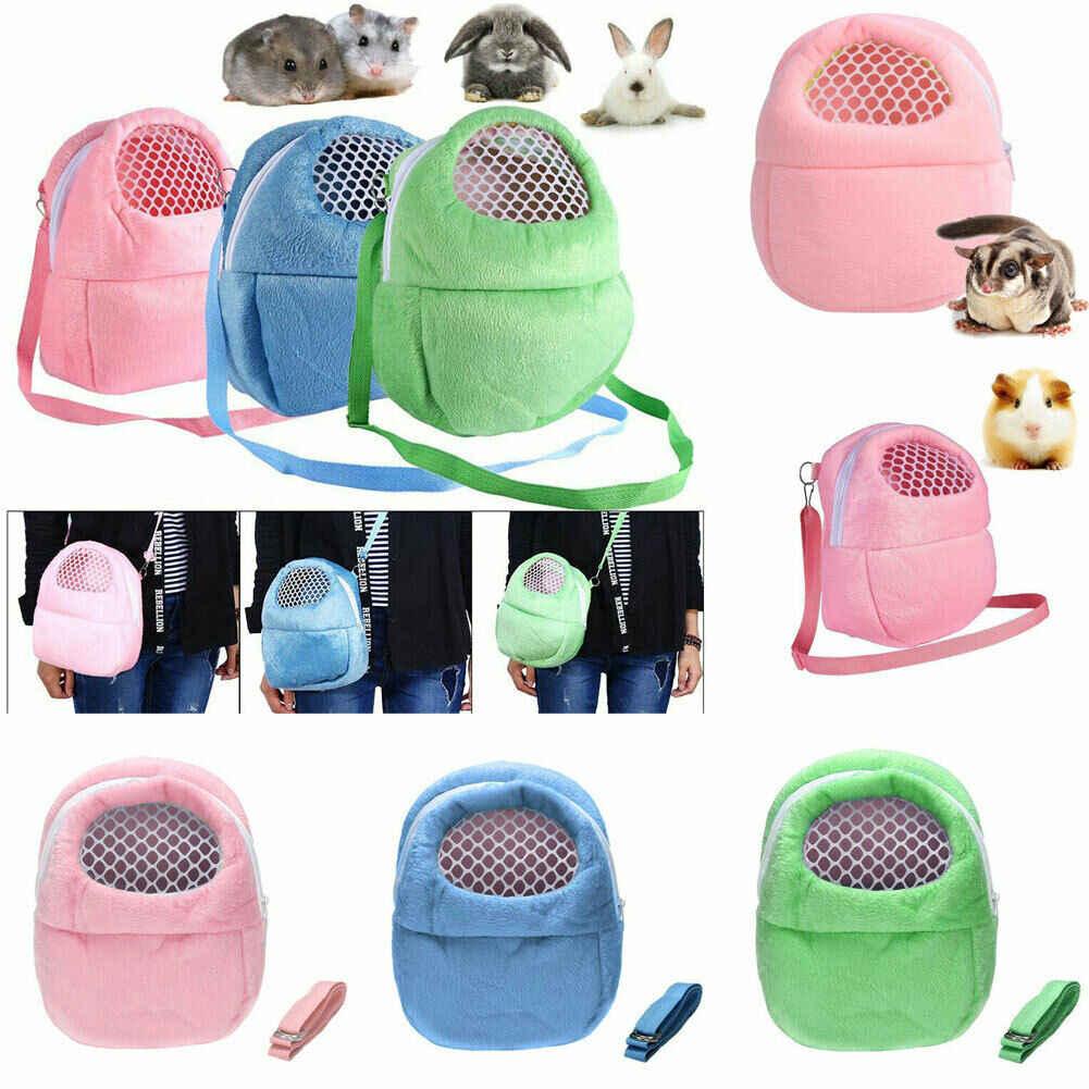 2019 Новейшая модная переноска для домашних животных, сумка для переноски хомяка, теплая переносная защитная сумка, дорожная клетка, исходящая