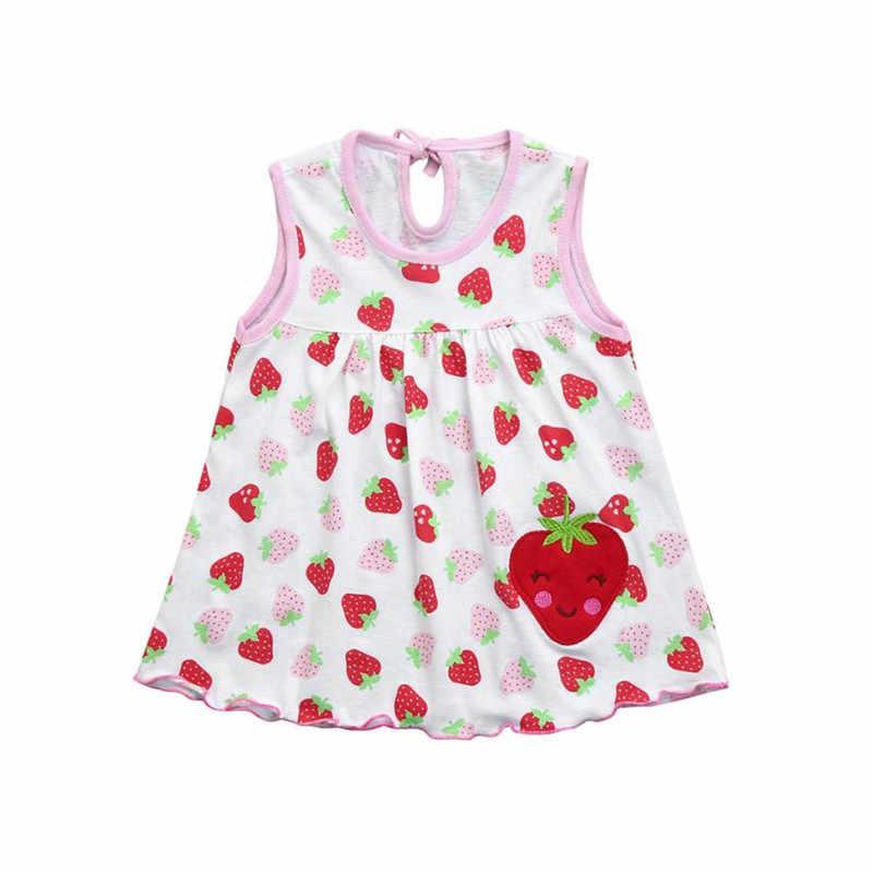 ARLONEET/милое платье для маленьких девочек Хлопковое платье принцессы с цветочным принтом для новорожденных Одежда для девочек от 0 до 2 лет, Прямая доставка, 30S531