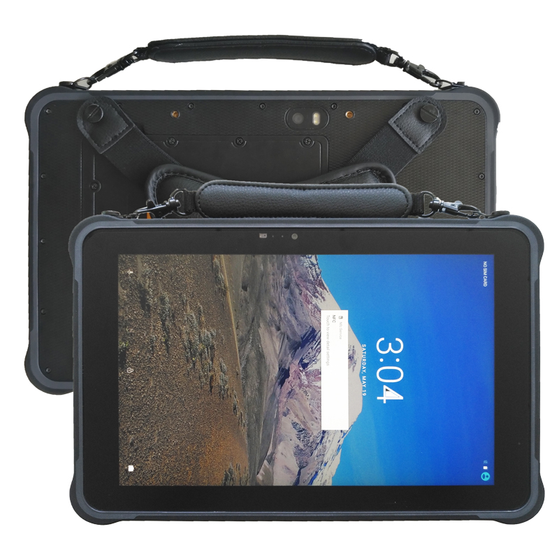 Rugged Tablets Android 7.0 RAM 3GB ROM 32GB Sunlight Screen H1920 V1200 450 Nits LCD RJ45 RS232 USB Industrial 10 Inch