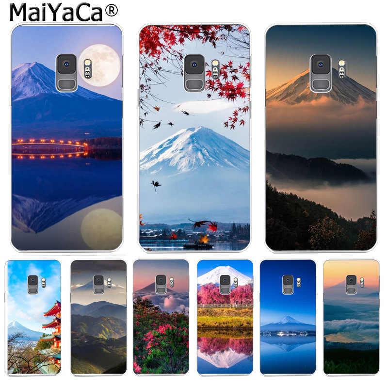 MaiYaCa 日本富士山超スリム電話ケースファッションカラフルな S9 S9 プラス S5 S6 S6edge S6plus S7 s7edge S8 S8plus