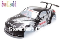 1 10 RC Car Accessories Body Shell For 1 10 RC Car 190mm Black Free Shipping