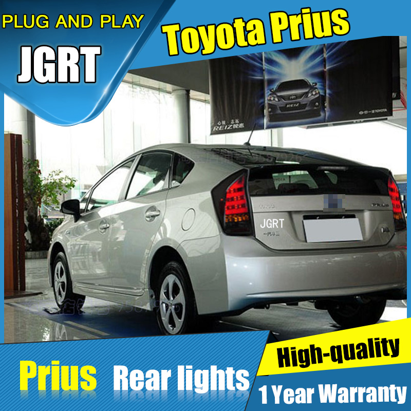 2PCS Car Styling for Toyota Prius Tail Lights 2009-2016 for Prius LED Tail Lamp+Turn Signal+Brake+Reverse LED light special car trunk mats for toyota all models corolla camry rav4 auris prius yalis avensis 2014 accessories car styling auto