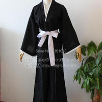 Anime Bleach Shinigami Kimono Ichigo Kurosaki Men's Bankai Cosplay Costume hallowean costume for man and women