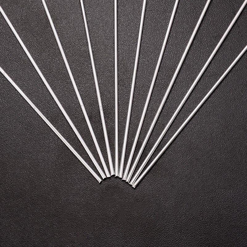 Schweißen & Löten Supplies GüNstiger Verkauf 10 Stücke Silber Aluminium Legierung Füllstoff Schweißen Stangen 1,6x330mm Niedrigen Temperatur Für Tig Löten Draht Werkzeuge Werkzeuge