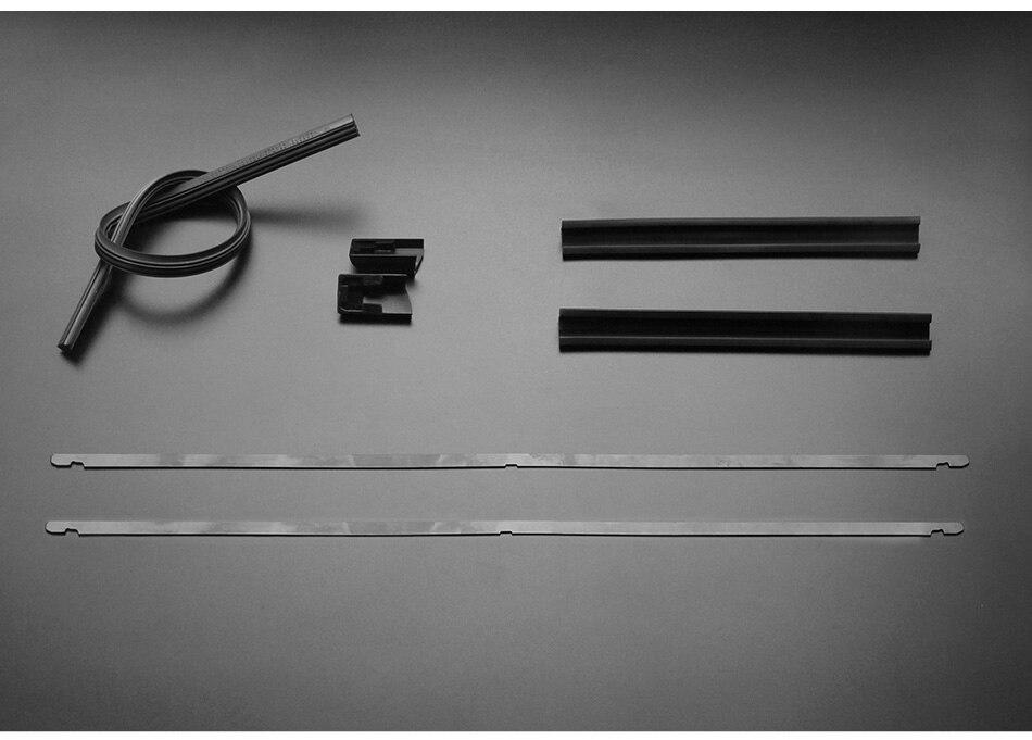 ᗗsumks wiper blades para porsche cayenne 26 & 26 fit side pin