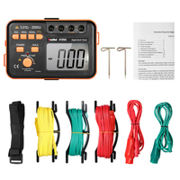 VC4105A 2000ohm 200V Digital Earth Resistance Tester Ground Meter Voltmeter Ohmmeter w/LCD Backlight Display capacitor tester