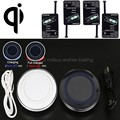 Universal Qi Wireless Charger or with Receiver for Huawei honor 4c/5s/HTC one m7/m8/m9/PPTV king 7/ZTE V5/Elephone p6000/p7000