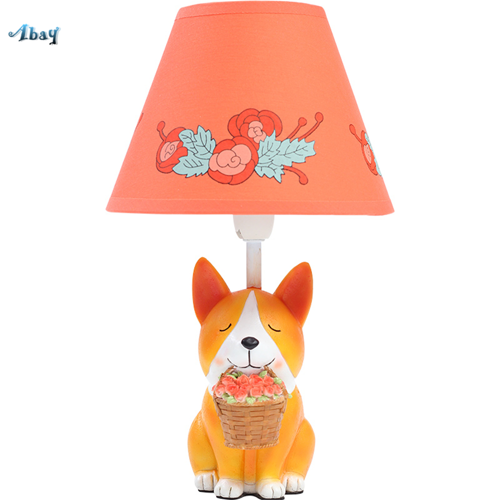 Cartoon Cute Corgi Puppy Table Lamps for Living Room Children Room Creative Bedside Lights Home Deco Kids Birthday Gift LedCartoon Cute Corgi Puppy Table Lamps for Living Room Children Room Creative Bedside Lights Home Deco Kids Birthday Gift Led