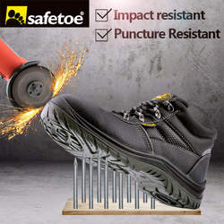 Safetoe safety shoes work boots men steel toe cap breathable comfortable anti abrasion oxford mesh hiking.jpg 250x250
