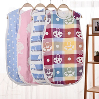 6 Layers Gauze Newborn Baby Sleeping Bag Stroller Bed Swaddle Blanket Wrap Bedding Soft Children Vest