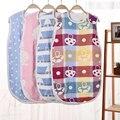 6 Layers Gauze Newborn Baby Sleeping Bag Stroller Bed Swaddle Blanket Wrap Bedding Soft Children Vest Sleeping Bag Baby