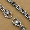 "316L Stainless Steel 14"" ~ 36"" Mens Biker Rocker Wallet Chain 5A020WC6(Length 24inch)"