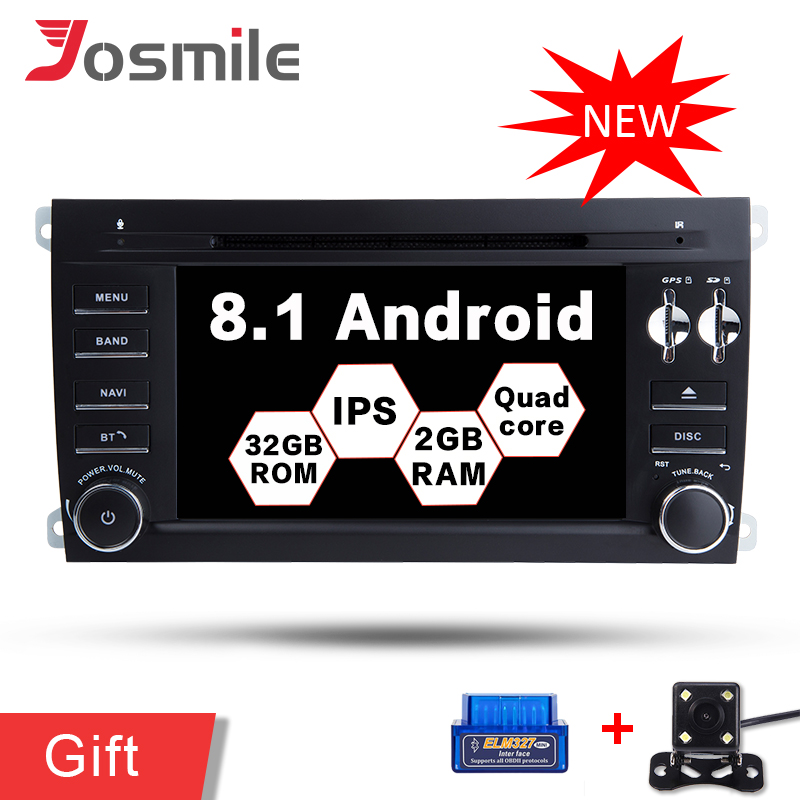 7 Android 8.1 Car DVD GPS Radio Player for Porsche Cayenne 2003 2010 DAB+ OBD2 (Fits: Cayenne) WIFI 4G LTE 16G ROM+2G RAM