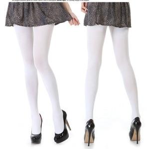 Image 2 - women girl female Aloe white velvet pantyhose stockings cosplay 2Pair / Lot tights