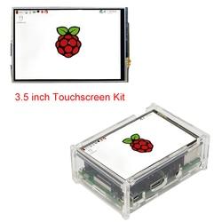 التوت بي 3 نموذج B + 3.5 'بوصة LCD TFT تعمل باللمس عرض + الاكريليك حالة + قلم اللمس متوافق مع التوت بي 3