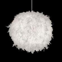 hot deal buy oovov feather ball bedroom pendant lamp creative study room pendant light kid's room pendant lights