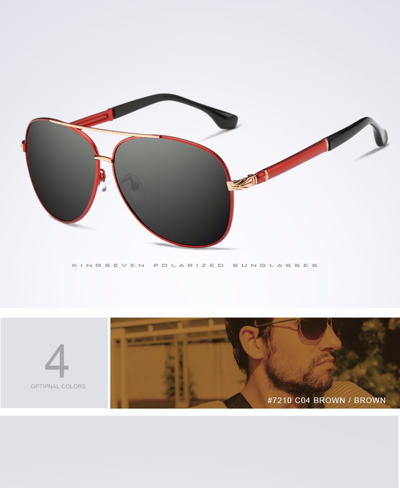 2017 Retro Quality Brand Original Sunglasses Men Polarized Lens Vintage Eyewear Accessories Gold Sun Glasses Oculos For Men 9