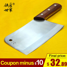 Chopping knives stainless steel handmade forged chef slicing knife chopping bone cleaver fish meat kitchen ножи