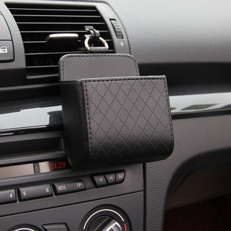 1x Auto Opbergdoos Lederen Organizer Bag Auto Accessoires Voor Peugeot 307 206 308 407 207 3008 406 208 508 301 2008 408 5008 Verfrissing