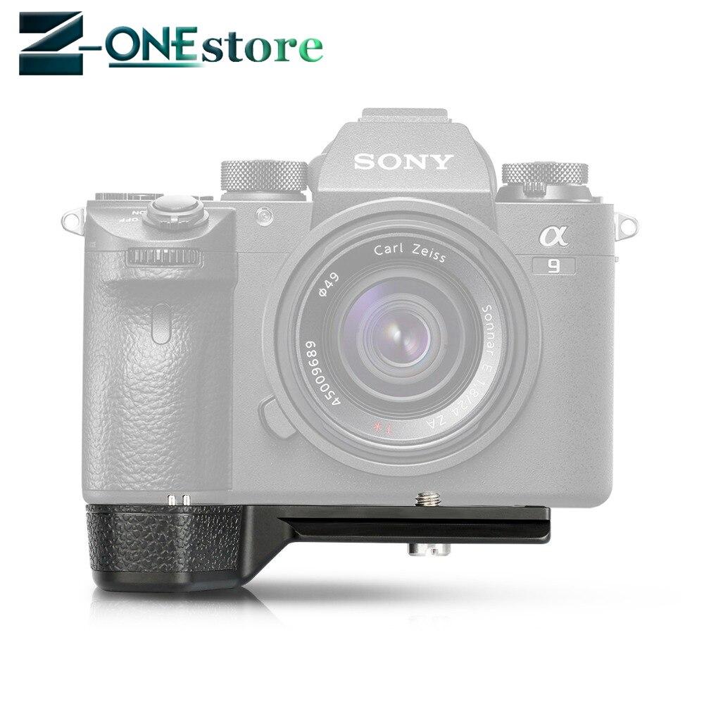 Meike MK-X1EM Nouvelle Tige Verticale Caméra L type Support en métal Main support de prise en main pour Sony a7 ii a7iii a7r iii a9 a7RII a7Sii a7MIII